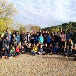 Barbacoa al Torrent de l'Escaiola dels grups de 5è